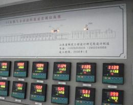 燃气、燃油中温隧道窑